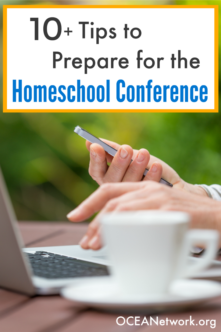 Get ready and prepare for the homeschool conference with this helpful list of tips!