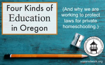 Four Kinds of Education in Oregon: Protecting Private Homeschooling Law