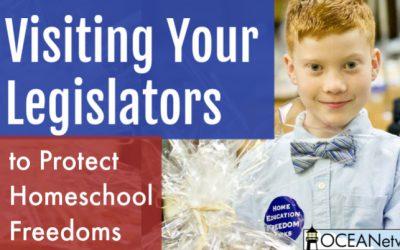 Visiting Your Legislators to Protect Homeschool Freedoms