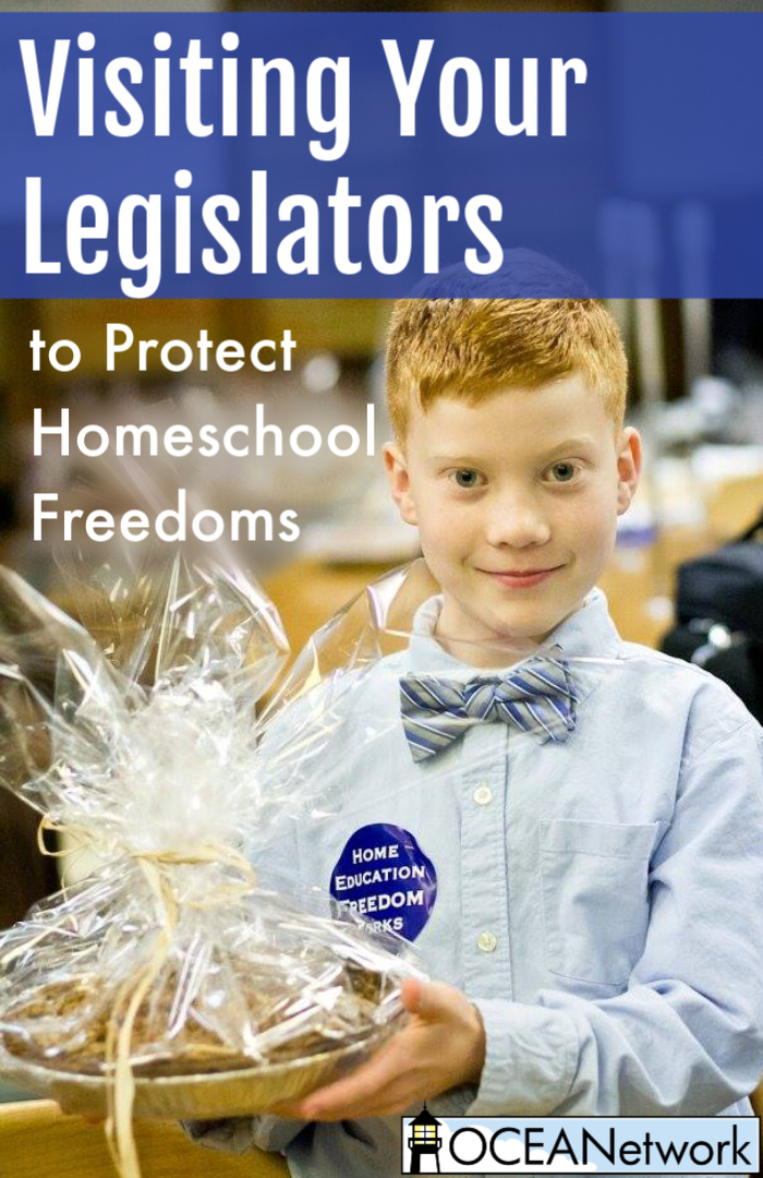 Visit your legislators to help protect homeschool freedom! Your legislators want to hear from you and know what's important to you. Here are some tips on how to do that as a family. Plus, you can put the next Apple Pie Day on the calendar and join OCEANetwork for a fantastic event at the Oregon Capitol. It makes connecting with your legislators easy, fun, and educational!