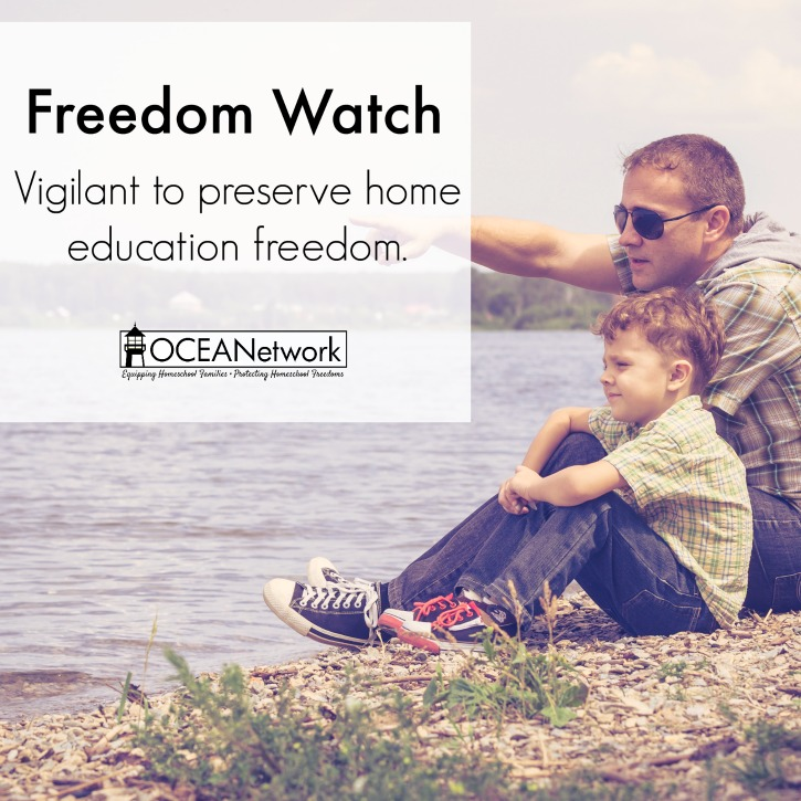 OCEANetwork remains vigilant to preserve home education freedom in Oregon!