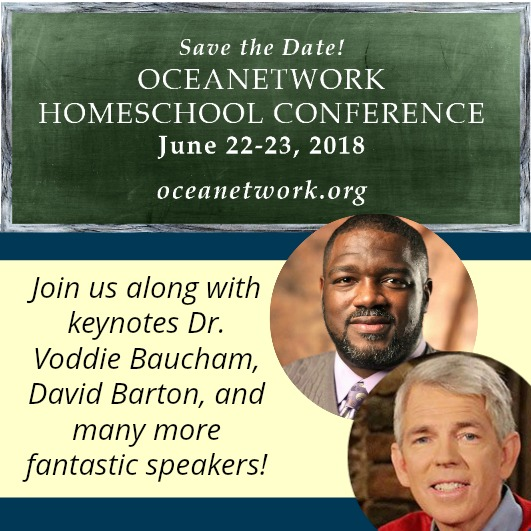 OCEANetwork Oregon Christian Home Education Association Network Conference Voddie Baucham and David Barton Homeschooling in Oregon 2018
