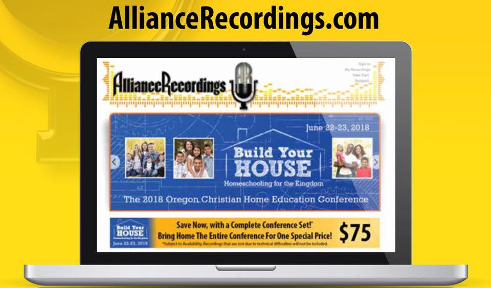 Oregon homeschool conference recordings