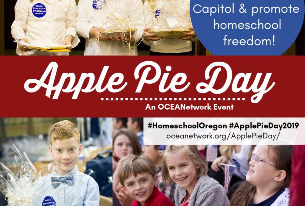 Apple Pie Day with OCEANetwork