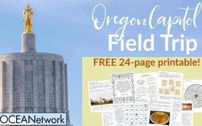 Oregon Capitol Field Trip Printable
