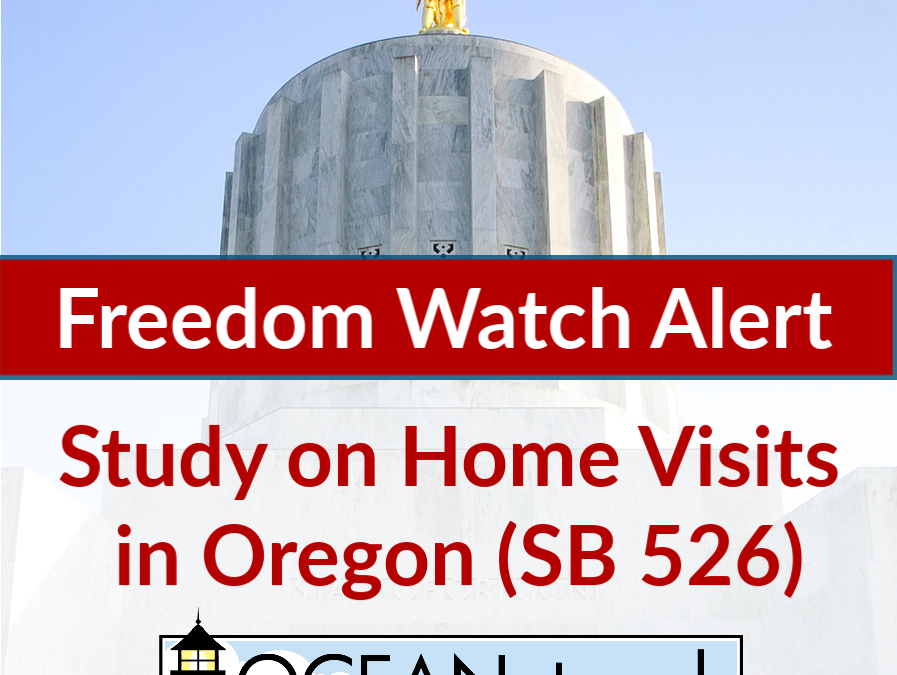 ALERT: Study on nurse home visits in Oregon (SB 526)