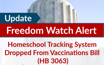 Homeschool Tracking System Dropped From Vaccinations Bill (HB 3063)