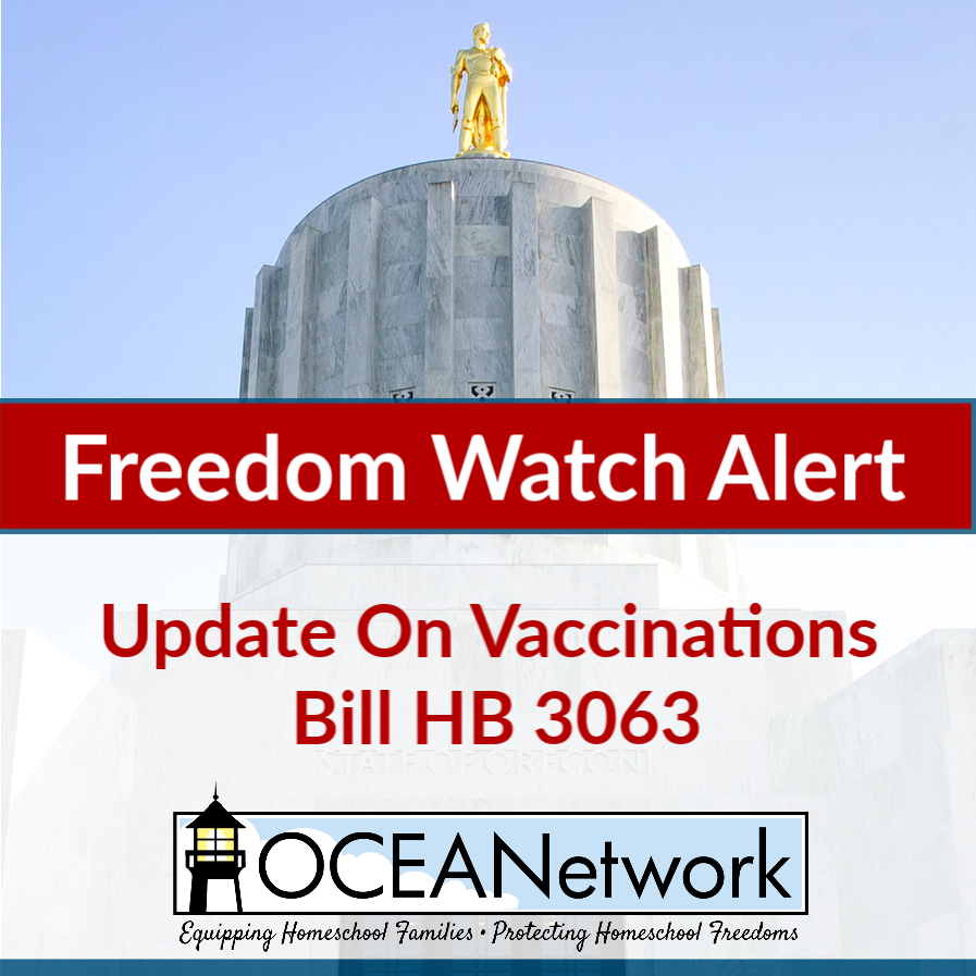 Last week, the Oregon Senate Republicans were able to block a Senate quorum by leaving the Capitol. They hoped to negotiate to kill or modify two or three specific bills, including the Vaccinations bill HB 3063.