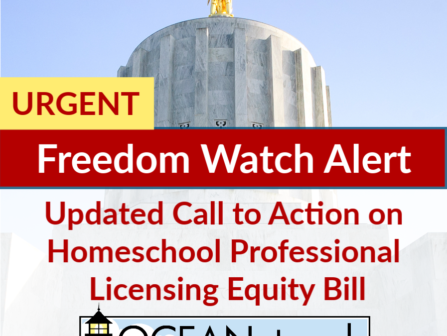 URGENT Update on HB 4059 Freedom Watch Alert