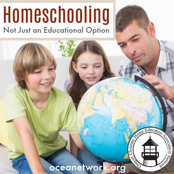 Homeschooling is not just an educational option. It is so much more!