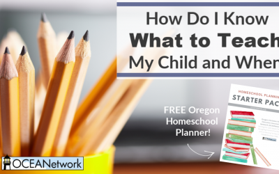 How Do I Know What to Teach My Child and When? (+ free homeschool planning pages!)