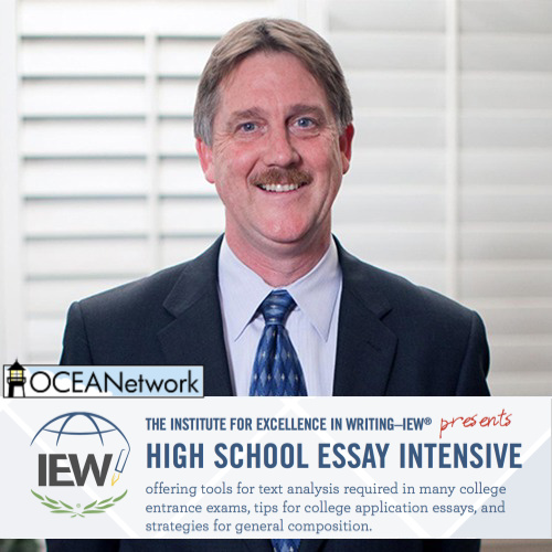 IEW High School Writing Intensive Workshop at the OCEANetwork Oregon homeschool conference