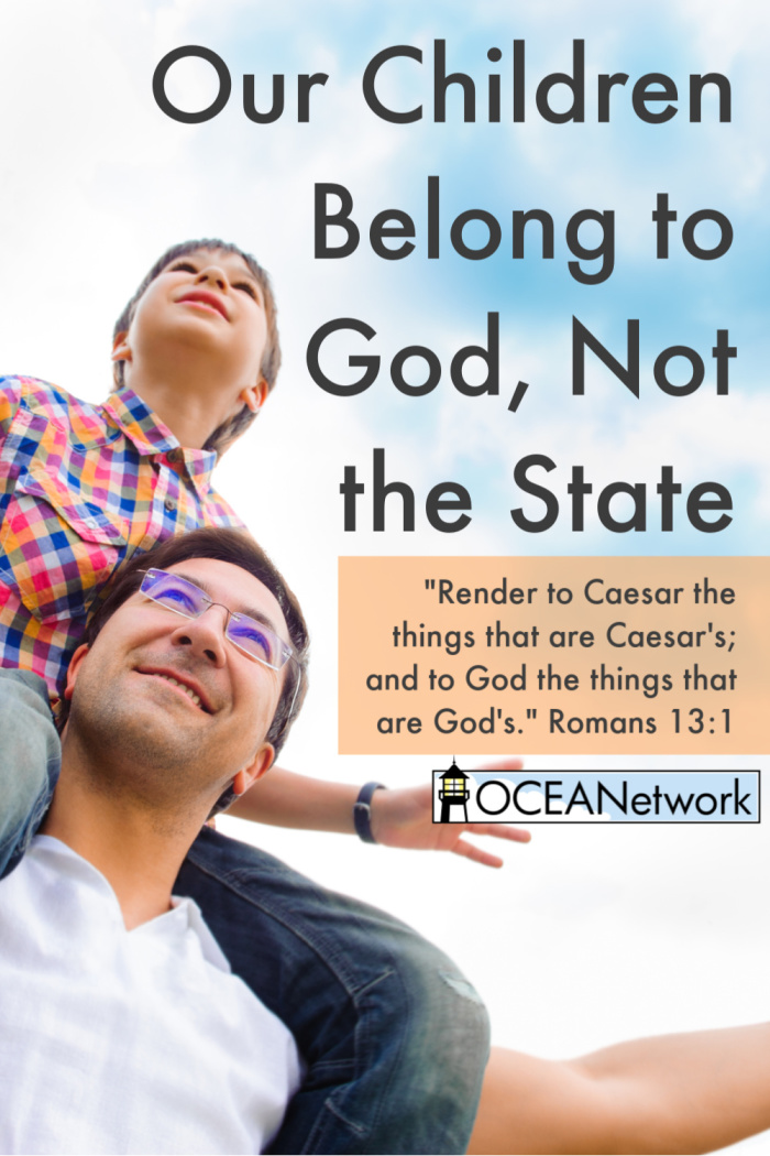 """Our children are God's. When I look down into their little faces, I do not see the ""image and inscription"" of the government. I see the likeness of God. These are not the state's children; these are God's children."" Our children belong to God, not the state! #homeschooloregon #homeschoolfreedom #christianhomeschool"
