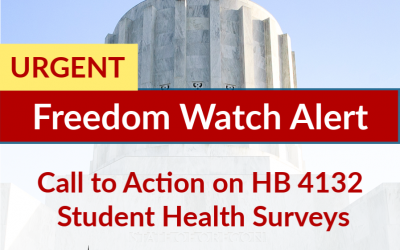 URGENT Call to Action on HB 4132 Student Health Surveys