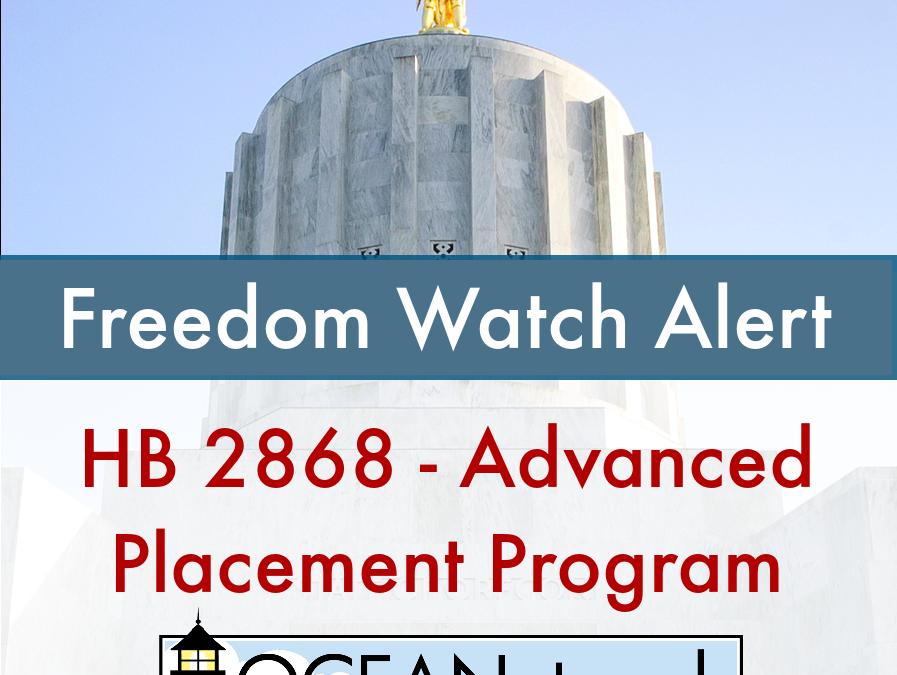 HB 2868Advanced Placement Program