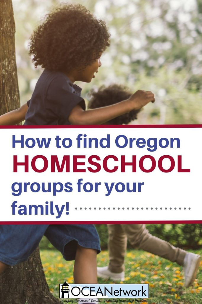 Find Oregon homeschool groups near you for support and encouragement!