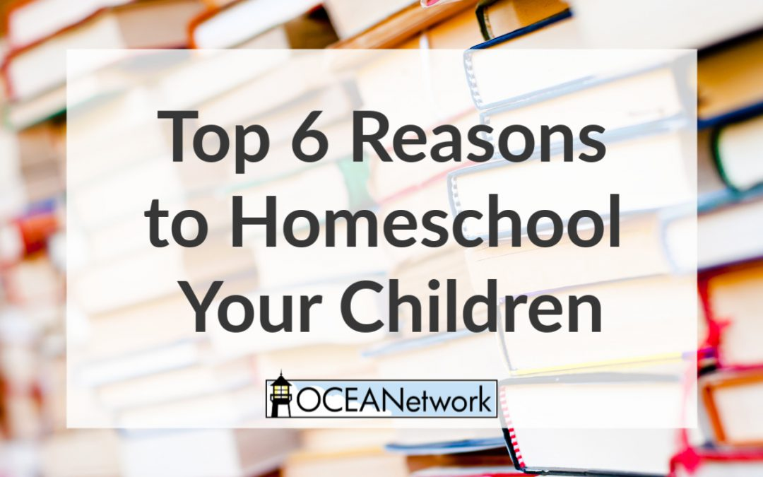 Top 6 Reasons to Homeschool Your Children